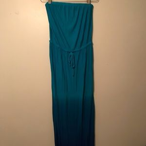 Old Navy Ombré Maxi Tube Dress size medium